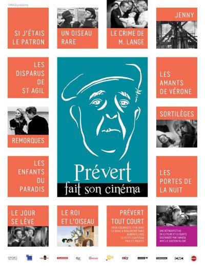 Affiche - Prévert fait son cinéma