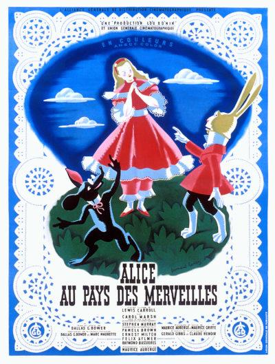 Affiche - Alice au Pays des merveilles
