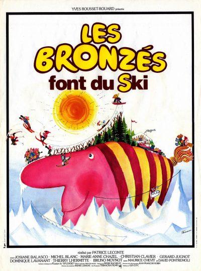 Affiche - Bronzés font du ski (Les)