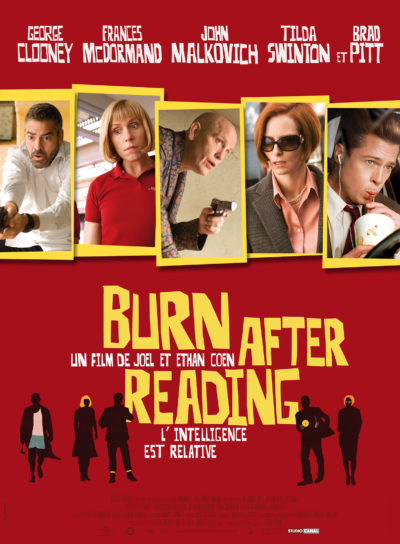 Affiche - Burn After Reading