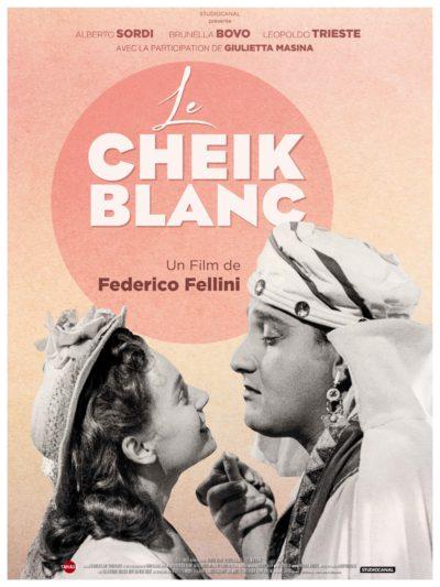 Affiche - Cheik blanc (Le) – Sceicco bianco (Lo)