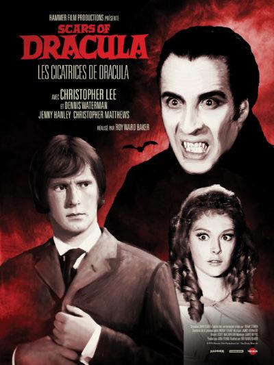 Affiche - Cicatrices de Dracula (Les) – Scars of Dracula