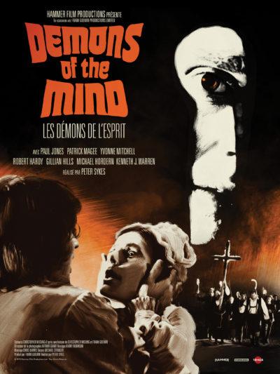 Affiche - Démons de l'esprit (Les) – Demons of the mind