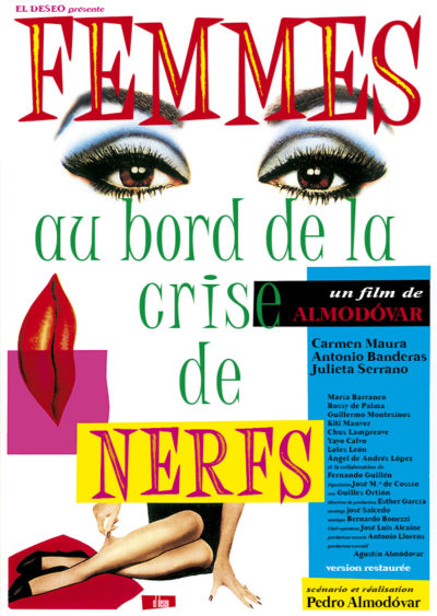 Affiche - Femmes au bord de la crise de nerfs –