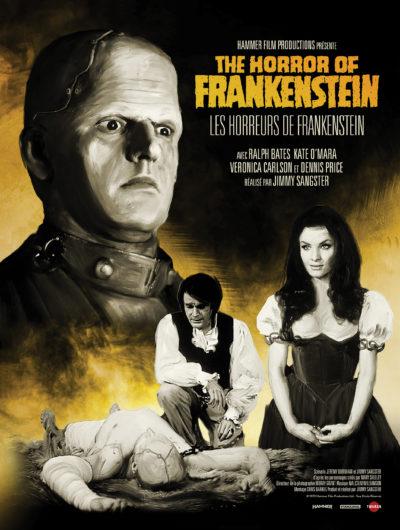 Affiche - Horreurs de Frankenstein – Horror of Frankenstein