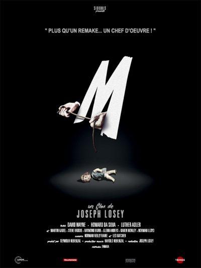 Affiche - M [Losey]