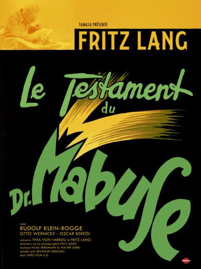 Affiche - Testament du Dr Mabuse (Le)