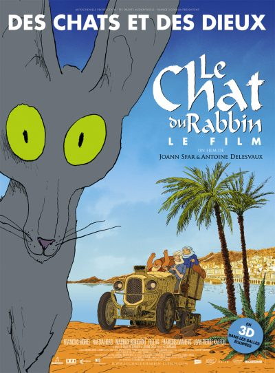 Affiche - Chat du Rabbin (Le)