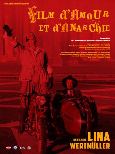 Affiche - Film d'Amour et d'Anarchie – Rue des Fleurs