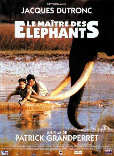 Affiche - Maître des éléphants (Le)