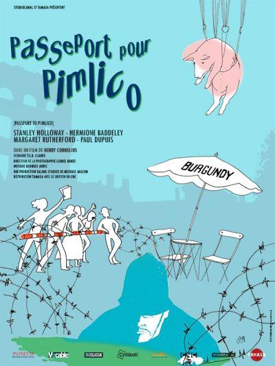 Affiche - Passeport pour Pimlico