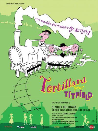 Affiche - Tortillard pour Titfield