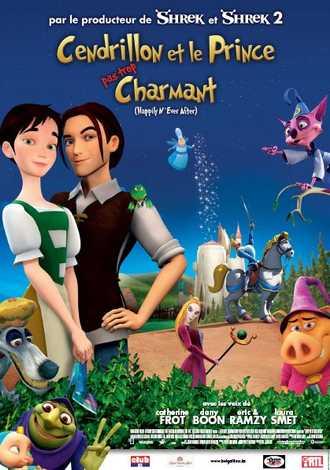 Affiche - Cendrillon & le prince (pas trop) charmant