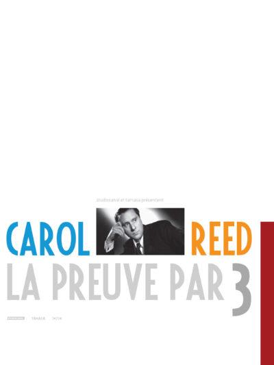 Affiche - Carol Reed, la preuve par 3