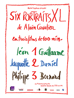 Affiche - Six portraits XL