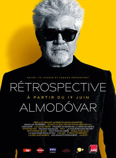 Affiche - Rétrospective Almodóvar