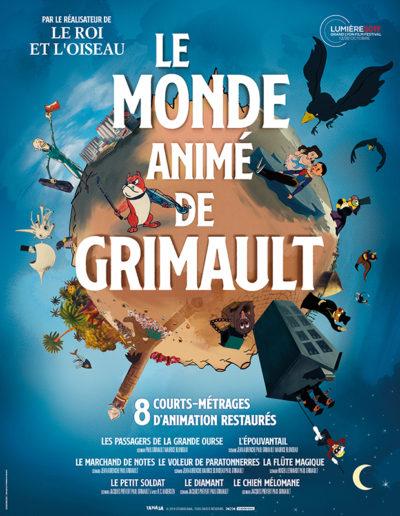 Affiche - Monde Animé de Grimault (Le)