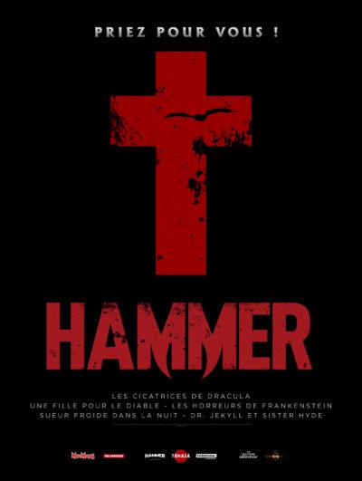 Affiche - Hammer : 1970-1976 Sex & Blood